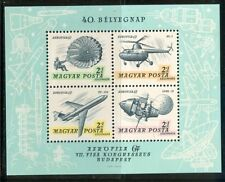 HUNGARY-1967.AIR - Souv.Sheet - Aerofila II.(Space,Helicopter) MNH!!! Mi Bl.59