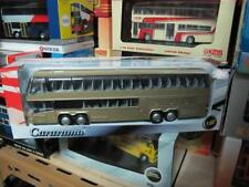 Neoplan Megaliner double decker coach bus gold 1/64 cararama