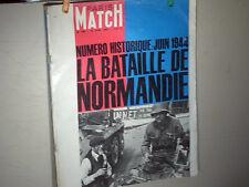 PARIS MATCH 13 06 1964 N°792 COMMEMORATIF BATAILLE NORMANDIE 44  /CAHIER SPECIAL
