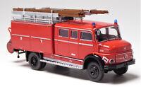 H0 BREKINA Mercedes Benz MB LAF 1113 TLF 16 Löschfahrzeug Schlauchhaspel # 47130