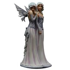 Retired Faerie Glen Sister's Love Fairy Sisters Figurine by Selina Fenech