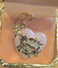 Sweet Couture Heart Compact Charm Nwot Juicy Couture Limited Edition