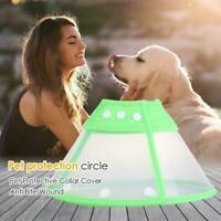 Dog Cat Wound Recovery Cover Pet Anti Bite Lick Circle Elizabethan Cone C2U9