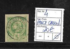(57025) HAITI CLASSIC STAMPS #4 1881, FANCY CANCEL   CAT.VL+ 20,00€
