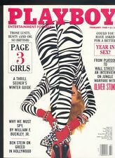 Playboy february 1988 ed.USA Kari Kennell Oliver Stone intervista