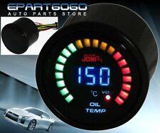 "2"" 52mm Oil Temperature Volt Blue Digital Led Auto Gauge Meter For 240Sx 350Z"