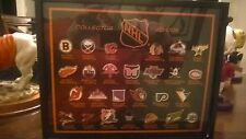 NHL collector edition pin set framed