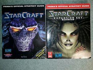 StarCraft & Expansion Set Brood War Prima Official Stategy Guide Books Farkas