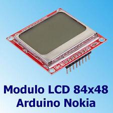 Display Modulo LCD Grafico 84x48 Nokia 5110 compatibile Arduino PIC