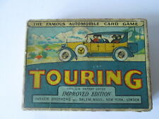 Touring card game. Automobile card game.vintage toys.Parker brothers