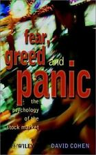 Fear, Greed & Panic: The Psychology of the Stock Market-ExLibrary