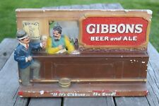 Gibbons Beer & Ale Chalkware Chalk Statue Wilkes-Barre Pa