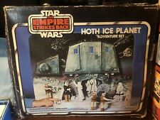 Star Wars Hoth Ice Planet Playset 1980 Empire Strikes Back
