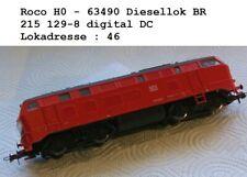 Roco H0 - 63490 Diesellok BR 215 129-8 digital - Lokadresse : 46 - DC