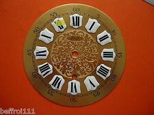 Cadran laiton décoré pendule Zenith horloge Zifferblatt Uhr Clock 15cm dial P2