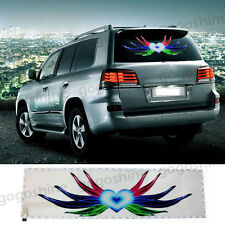 "35"" 90x25CM Car Music Rhythm LED Flash Light Sticker Sound Activated Equalizer"
