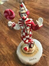 "Ron Lee Clown Figurine - ""Lollipop"" - L363"