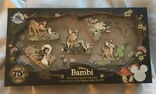Disney Store D23 Expo 2017 Bambi 75th Anniversary Thumper Flower Pin Set LE 300