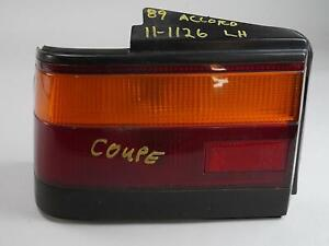 1988 - 1989 HONDA ACCORD COUPE TAILLIGHT BRAKE STOP TAILLAMP ASSY LEFT LH OEM