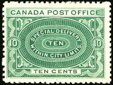 Canada #E1 10c Blue Green 1898 Special Delivery Mint Lightly Hinged