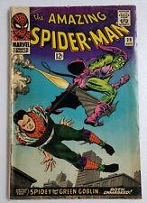 🔥 AMAZING SPIDER-MAN #39 1ST JOHN ROMITA COVER GREEN GOBLIN KEY 1966