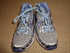 BROOKS Women's 'Ravenna 3' Running Shoes ~ Silver/Navy/Lavender ~ 7.5M
