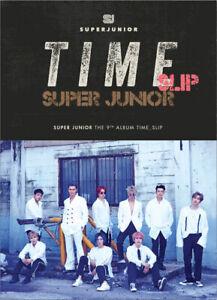 SUPER JUNIOR [TIME SLIP] 9th Album RANDOM CD+Foto Buch+Foto Karte K-POP SEALED