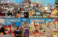 Horrible Histories Jigsaw Puzzles ~ Egyptians / Vikings / Romans / Tudors ~ 250