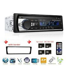 Audio In-Dash Bluetooth Car Stereo FM Radio Aux Input Receiver SD USB MP3 Player