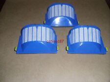 3 x Authentic Roomba 500 Series Aero Vac Filter Blue 550 AeroVac 560 570 580 530