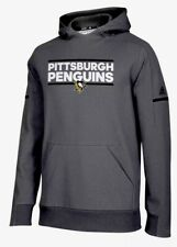 Pittsburgh Penguins Adidas NHL Squad Pullover Hoody SZ M NWT $100