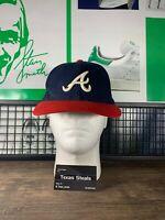 Vintage MLB Atlanta Braves Blue Red Baseball VTG Hat Cap Headwear