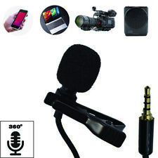 Mini Portable Microphone Clip Lapel Microphone For Android phone and Laptop