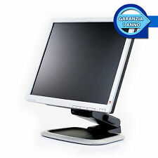 """MONITOR SCHERMO RICONDIZIONATO LCD GRADO B 19"""" POLLICI PC COMPUTER DESKTOP FISSO"""