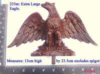 233m Extra Large  Eagle for Vienna regulator clock case / DIY
