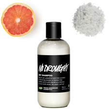 Lush No Drought Hair Dry Shampoo - No Wash, with lemon & grapefruit oils (130g)