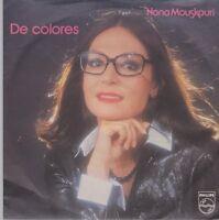 "7"" Nana Mouskouri De Colores / Geh nicht zu den Soldaten 80`s Philips"