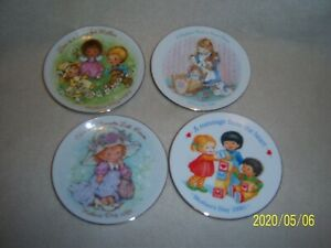 4- Avon, Mothers Day, Small Decorative Porcelain Plates