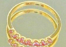 Lovely pink ღ♥ Turmalin Ring in aus 14kt 585 Gold mit Turmaline ✨✨Mehr im Shop✨✨