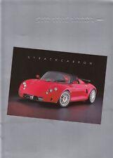 STRATHCARRON SPORT CARS Pressemappe 2000 +++++++++++++++++++++++++++++++++++++++