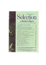 Selection Du Reader's Digest septembre 1970 -