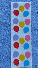 "Mrs Grossman SMALL BALLOONS, PLAIN Stickers 5/8"" Balloons"