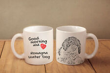 "Lagotto Romagnolo - ein Becher ""Good Morning and love"" Subli Dog, CH"