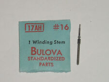 Bulova winding stem 17AH 17AL Aufzugswelle tige de remontoir albero di carica