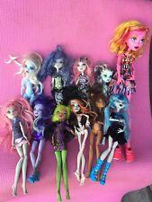 Lot Of 11 Monster High Dolls Large Doll