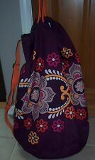 Brand New Vera Bradley Safari Sunset Large Laundry Bag Nwot