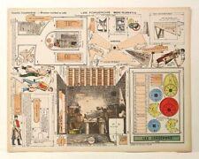 Pellerin Imagerie D'Epinal-No 546 Le Forgerons Grandes Construction Paper Model