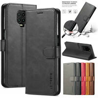 For Xiaomi Redmi Note 9S 8 7 Pro Flip Leather Wallet Case Card Stand Skin Cover