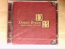 RARE CD / DENNIS BROWN / FOREVER DENNIS 1957-1999 / NEUF SOUS CELLO