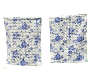"""Pillow Cases matching pair of blue rose quilted 20"""" by 26"""" polyester shams Bed"""
